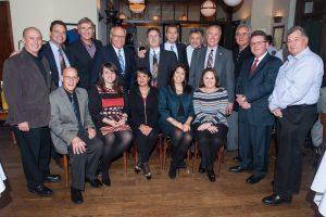 2013 Past Presidents Dinner at Quartinos